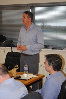 Tim Green delivering training and ProPG: Planning and Noise